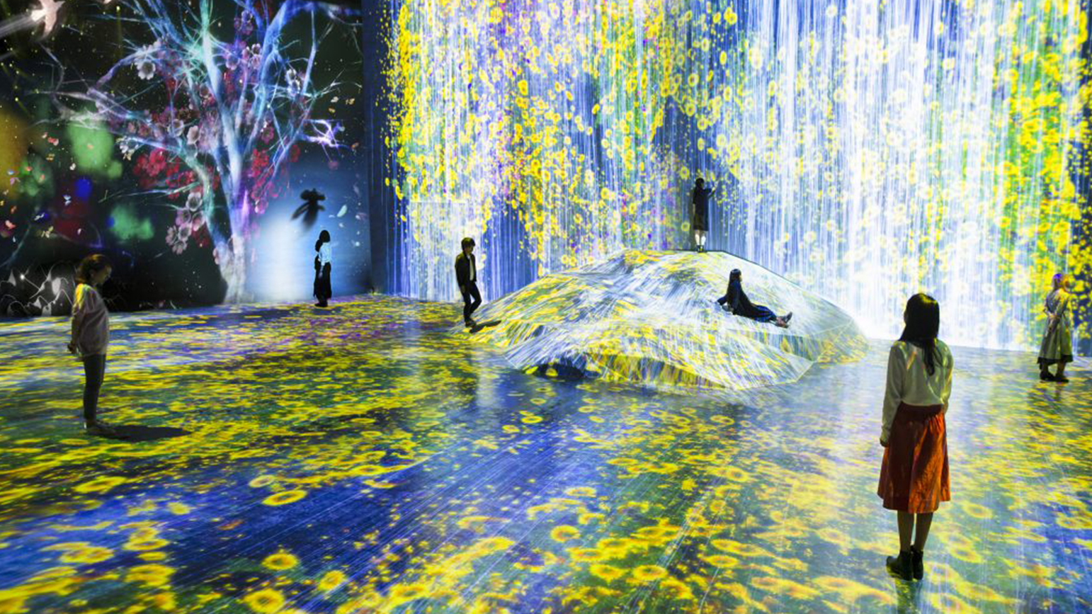 Project by teamLab