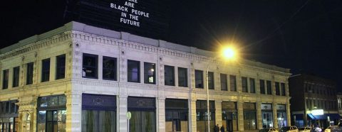 "Alisha Wormsley's ""There are Black People in the Future"" on ""The Last Billboard"""